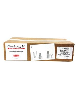 MBM Destroyit AC0920 Shredder Bags - 1 case (80/PK)
